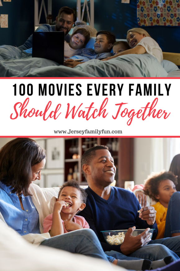 list of 100 Movies every family should watch together