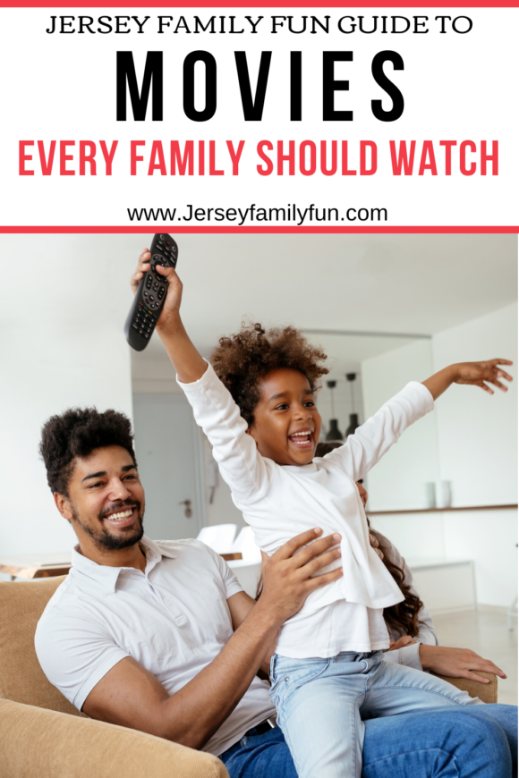 guide to 100 Movies every family should watch together