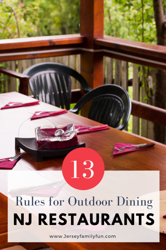 outdoor dining at new Jersey restaurants