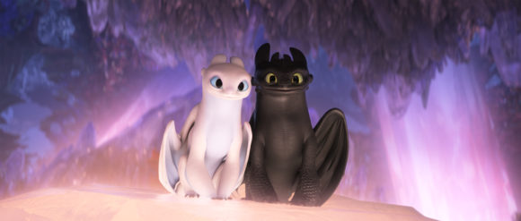 How to train your dragon movie dragons