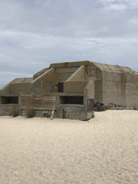 Cape May Point State Park world war II bunker