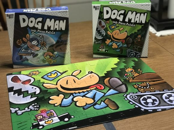 University Games makes Dog Man puzzles