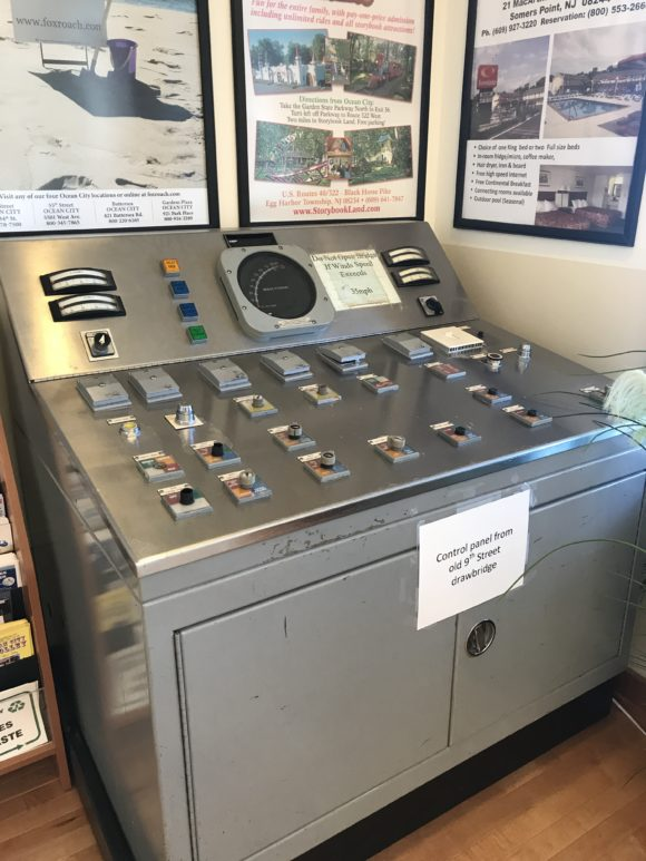 Control panel from the old Ocean City Bridge at 9th street.