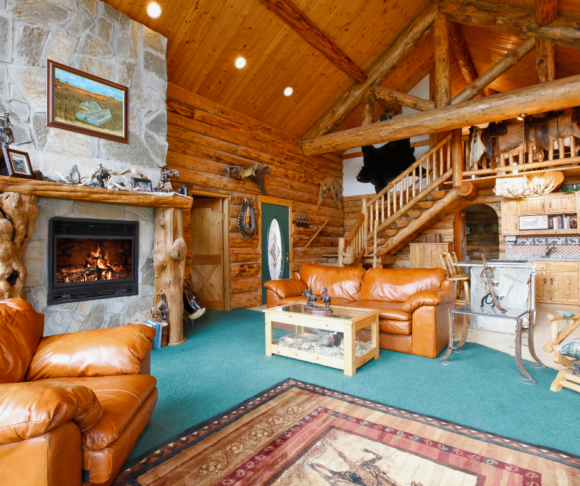 Large cabin rentals with fireplaces in New Jersey