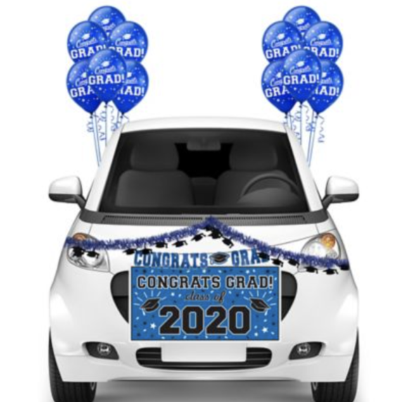 Party City Graduation Car Decorations
