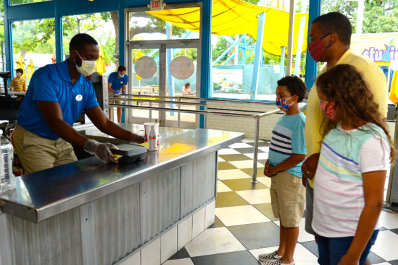 Fast food is still available at Six Flags Great Adventure