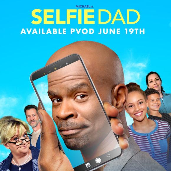 Selfie Dad family movie image