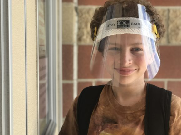 When NJ schools reopen expect to see some students wearing protective face shields from Switlik.