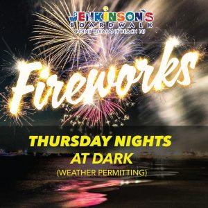 Jenkinsons Boardwalk fireworks