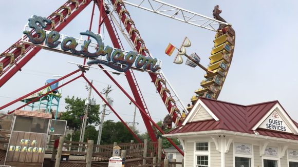 Sea Dragon ride at Fantasy Island Amusement Park
