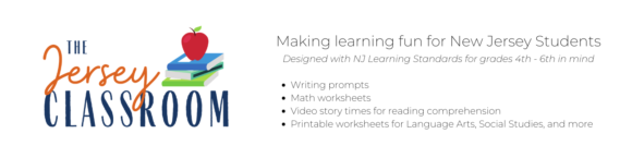 The Jersey classroom offers New Jersey educational worksheets and printables for virtual learning and homeschooling in New Jersey