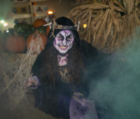 Sorceress at Six Flags Great Adventure Halloween activities