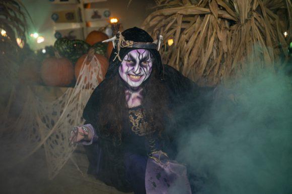 Sorceress at Six Flags Great Adventure Halloween activities
