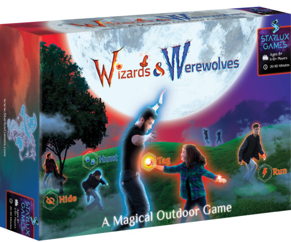 Backyard activities wizard and werewolves outdoor games for families