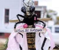 Bee-Antoinette-scarecrow-from-Keyport-Public-Library-Scarecrow-contest
