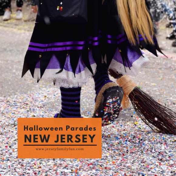 Halloween parades in New Jersey (Instagram Post)