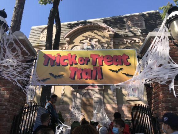 Hallowfest Great Adventure Halloween Trick or treat trail