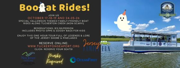 Tuckerton Seaport Halloween Boat Rides