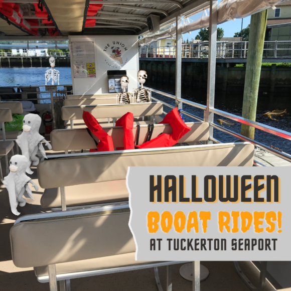 Tuckerton Seaport Halloween Boat Rides a great New Jersey Halloween activities