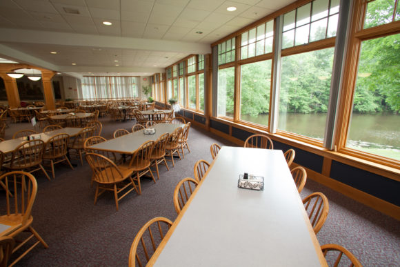The Williston Northampton School dining hall were World Sports Camp campers eat.