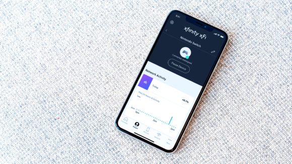 Use the Xfinity xfi app to pause devices connected to your home wifi.