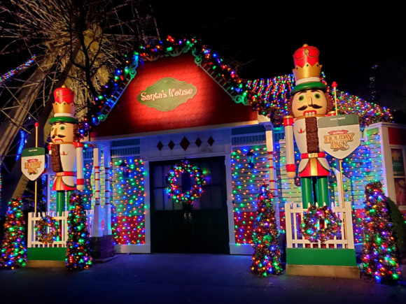 Santa's House in the North Pole at Great Adventure in New Jersey.