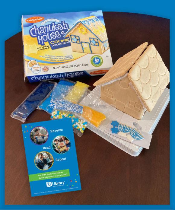 Chanukkah house cookie decorating kit.