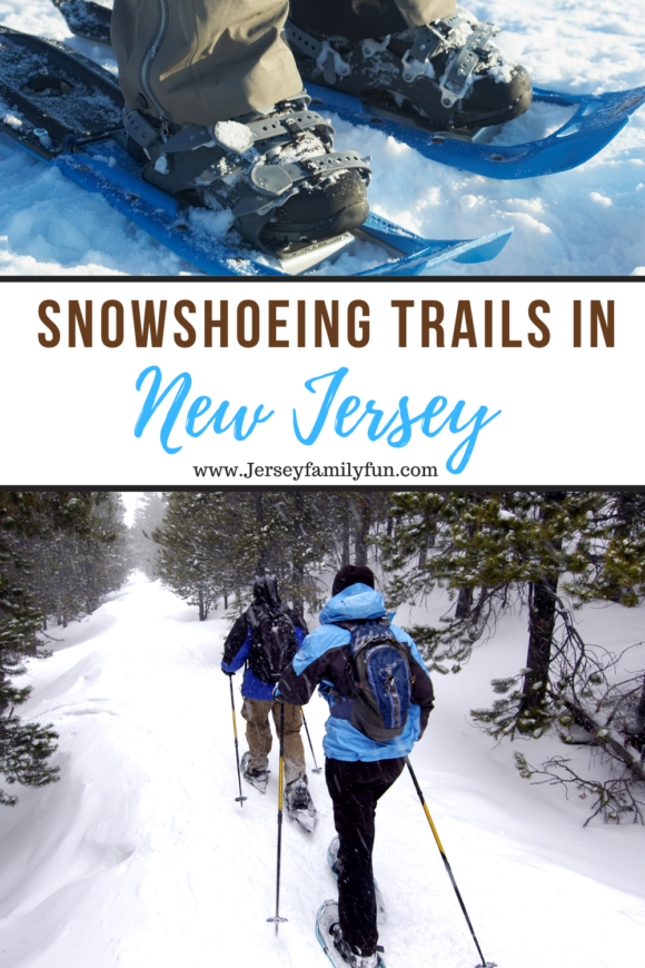snowshoeing trails in New Jersey