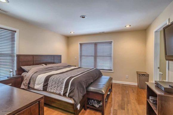 Complete Wildwood Vacation House Rental master bedroom