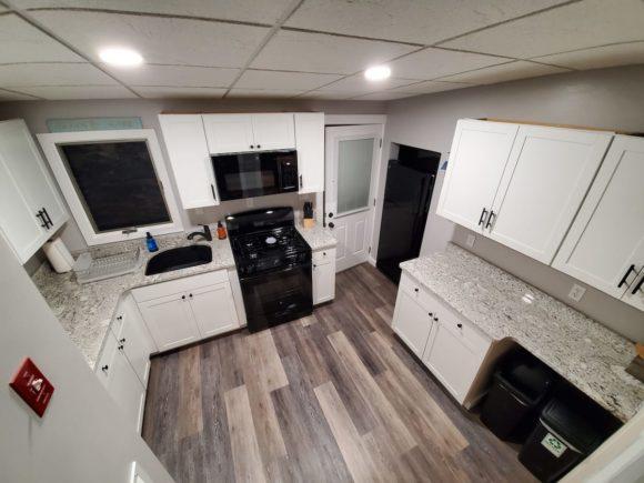Four Bedroom Wildwood Home Rental kitchen