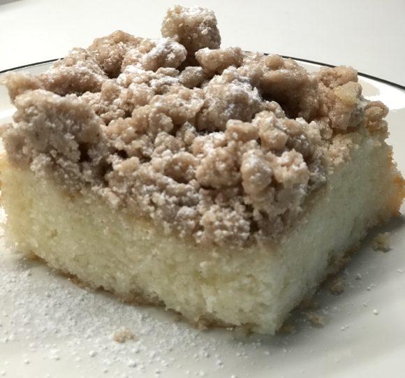 Gluten-free Crumb Cake from Clarkson Avenue Crumb Cake Company