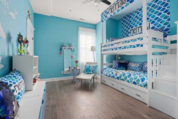 Luxury Wildwood Condo Rental with kids room mermaid style