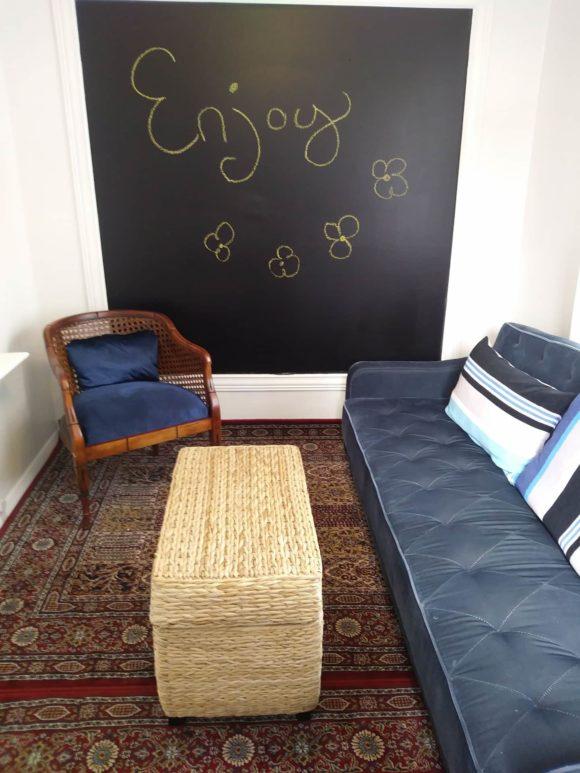 North Wildwood SeaBreeze Cottage living room