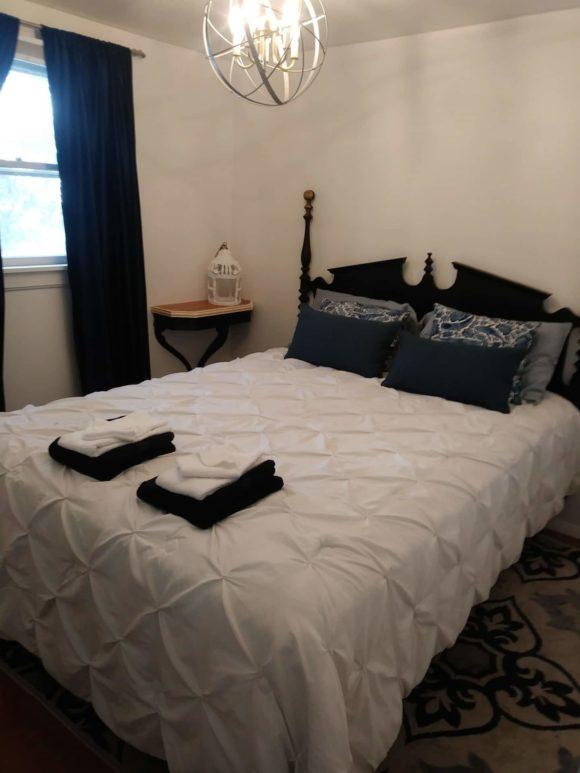 North Wildwood SeaBreeze Cottage master bedroom