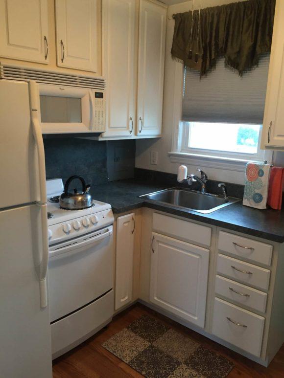 Wildwood Crest Condo kitchen