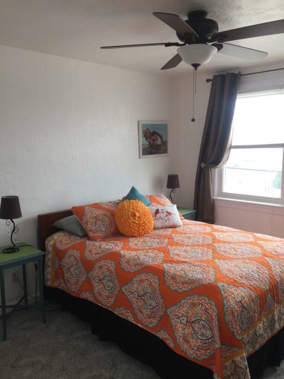 Wildwood Crest Condo master bedroom