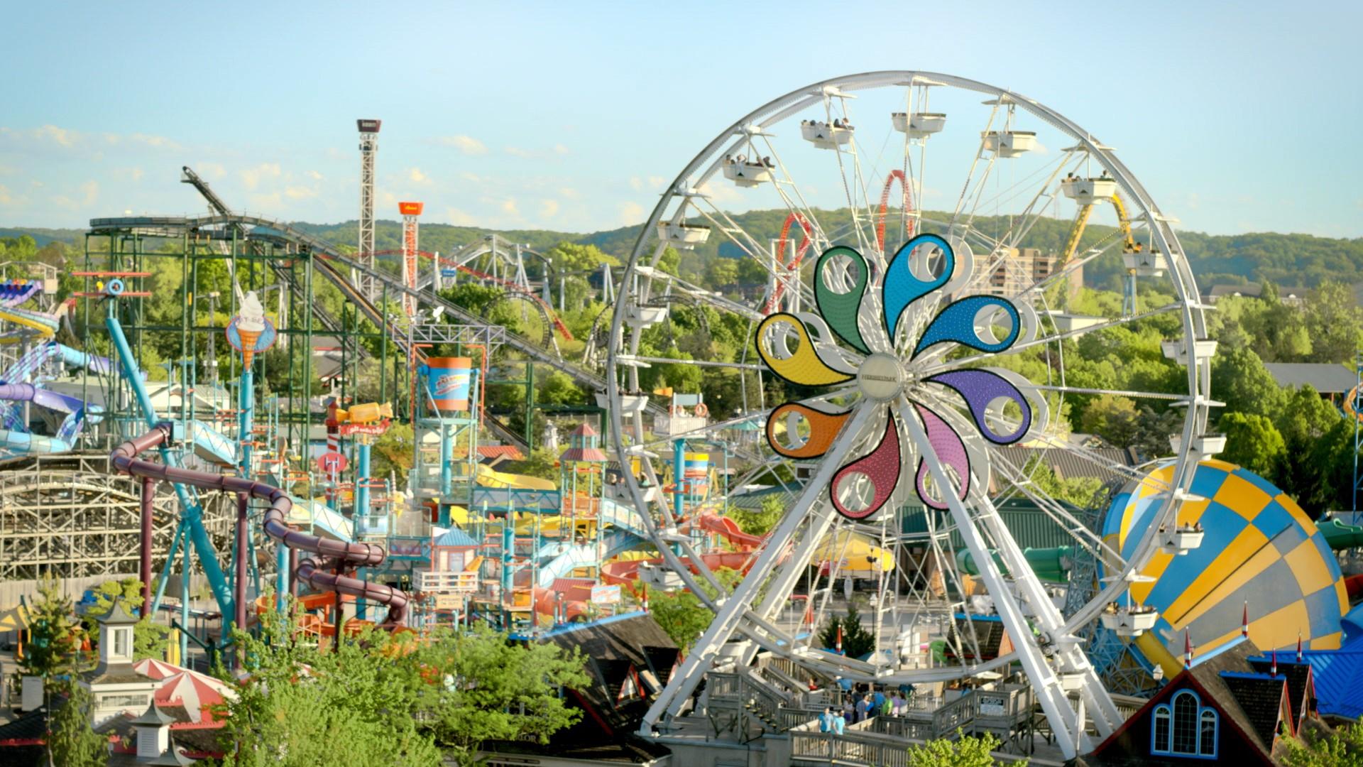 Hersheypark Ferris Wheel Aerial