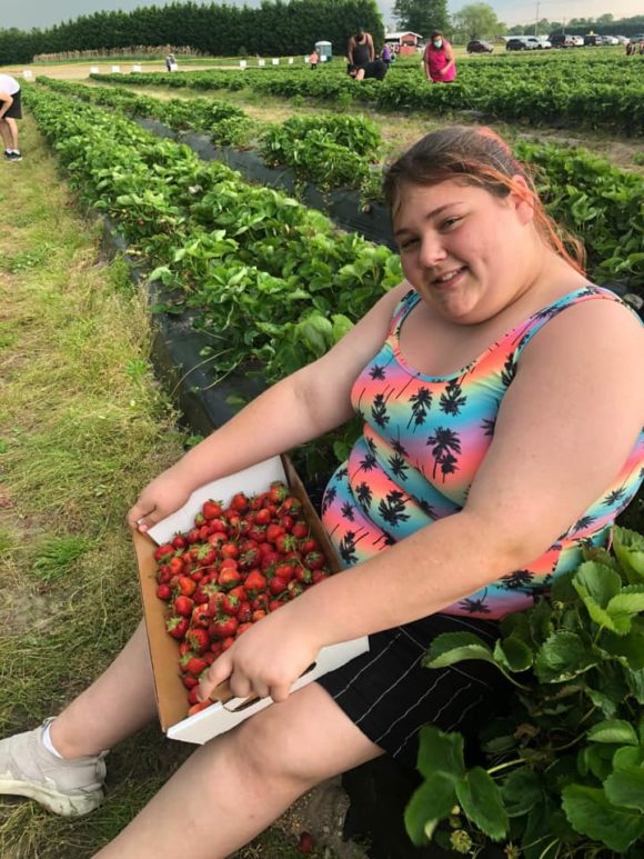 Duffields Farm Strawberry Picking in NJ Lois Louise Mongon