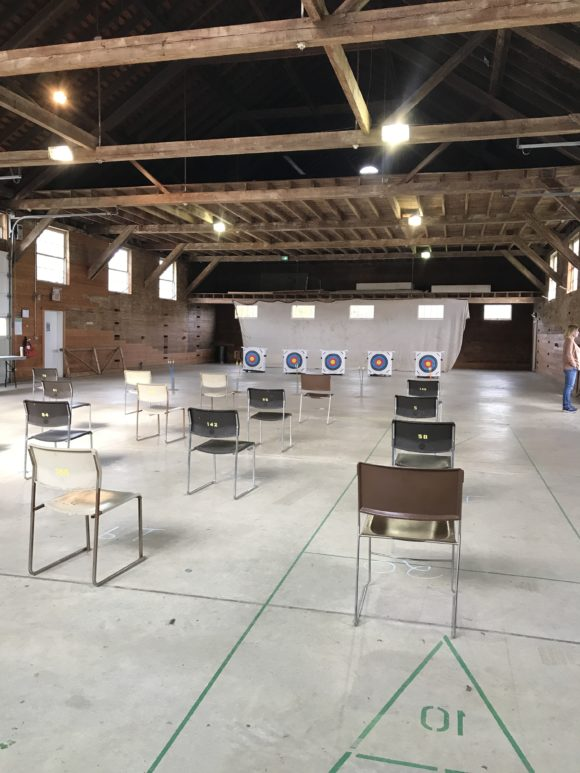 indoor archery with Monmouth County parks