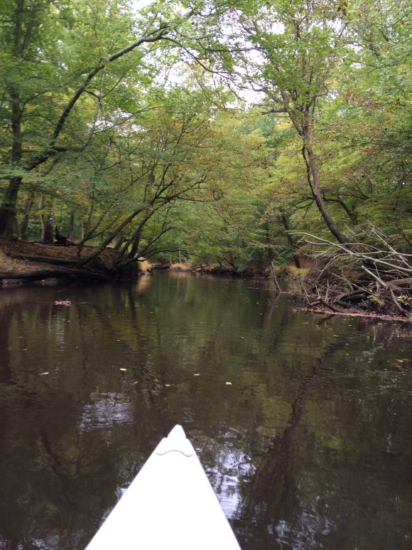 Canoeing at Historic Smithville park