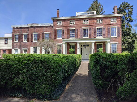 mansion at Historic Smithville park