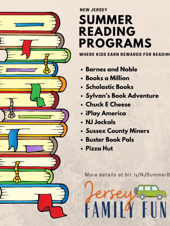NJ Summer Reading programs Instagram