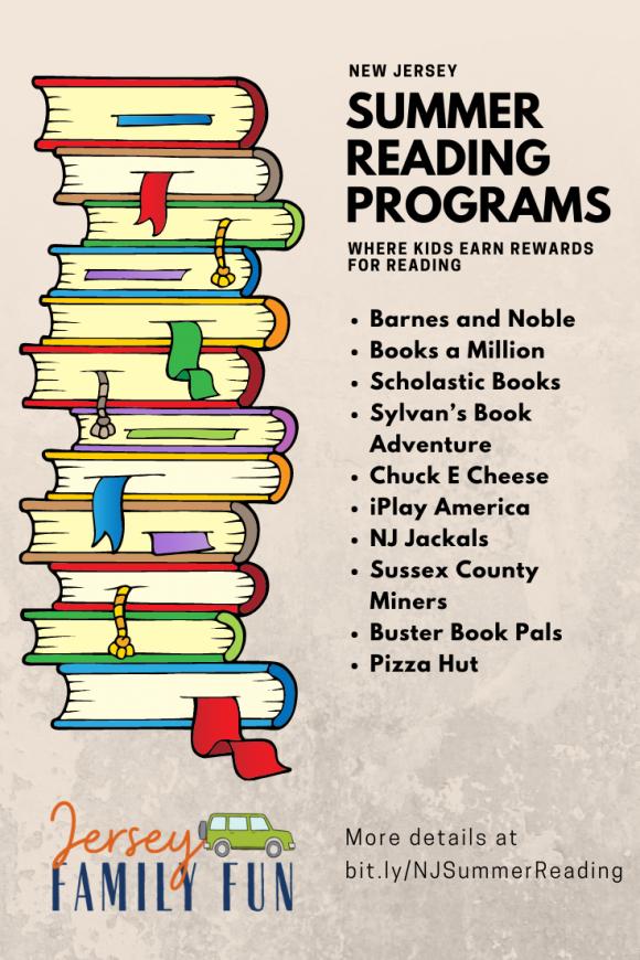 New Jersey summer reading programs image