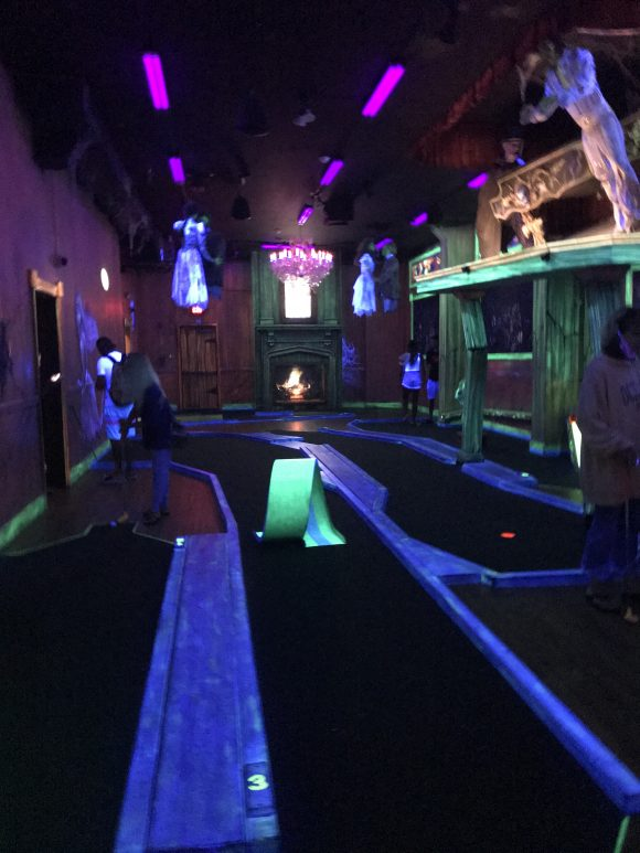Rainy day activities at the jersey shore haunted golf in Ocean City