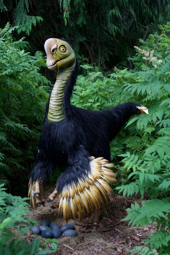 A citipati dinosaur at six flags great adventure
