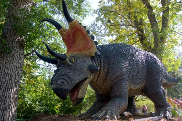 Xpedition Dino Dinosaurs at six flags great adventure Diabloceratops