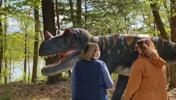 Six flags great adventure has become the newest dinosaur attraction in New Jersey.
