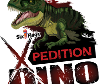 Xpedition-Dino-Dinosaurs-at-six-flags-great-adventure-Xpedition-Dino-Logo