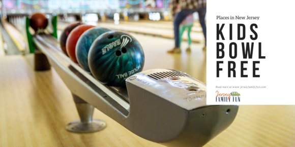 places in New Jersey where kids can bowl free