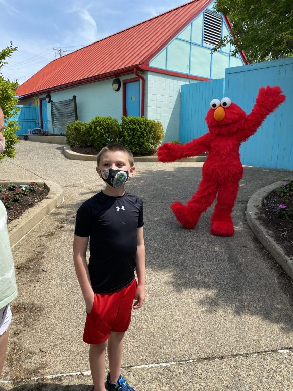 You can still get a selfie with Elmo at Sesame Place.